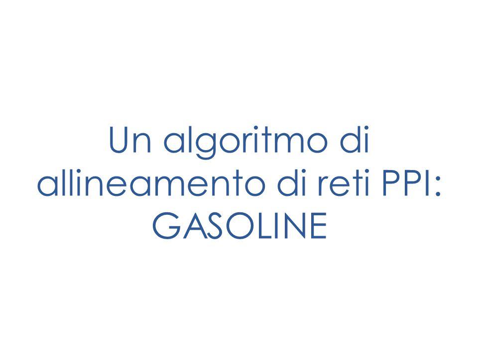 Un algoritmo di allineamento di reti PPI: GASOLINE