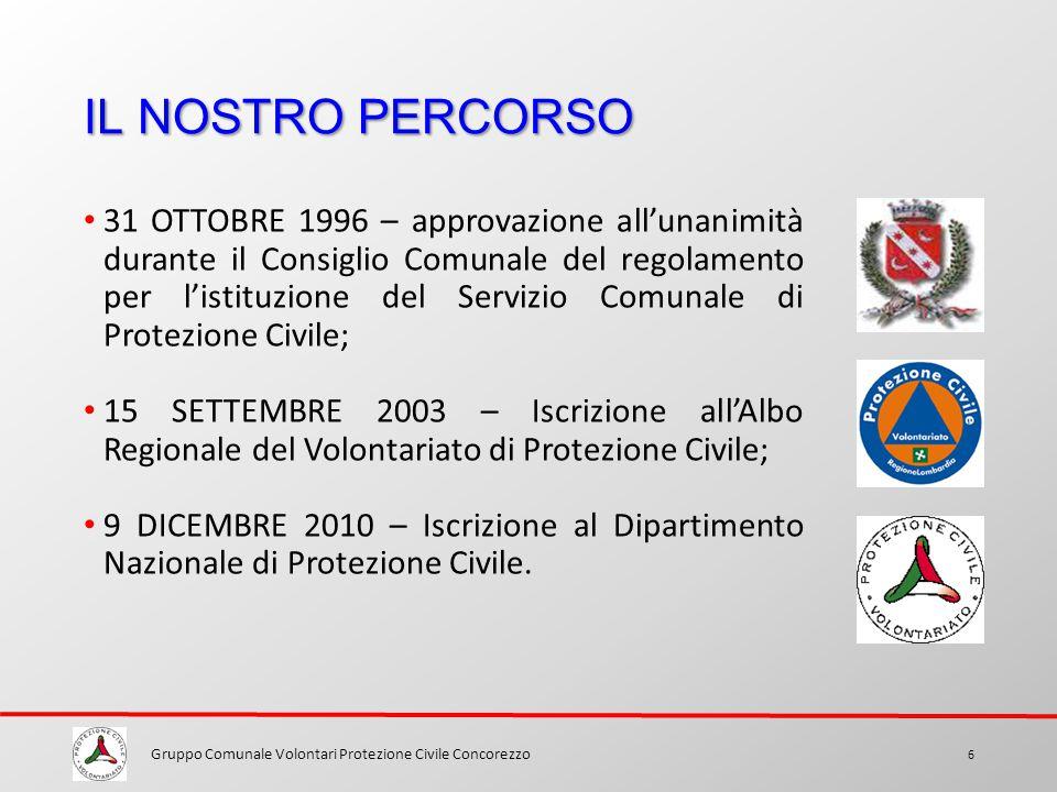 Gruppo Comunale Volontari Protezione Civile Concorezzo