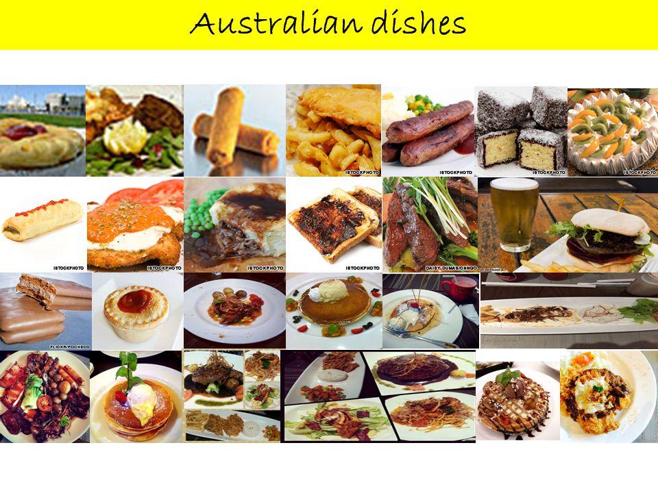 Australian dishes