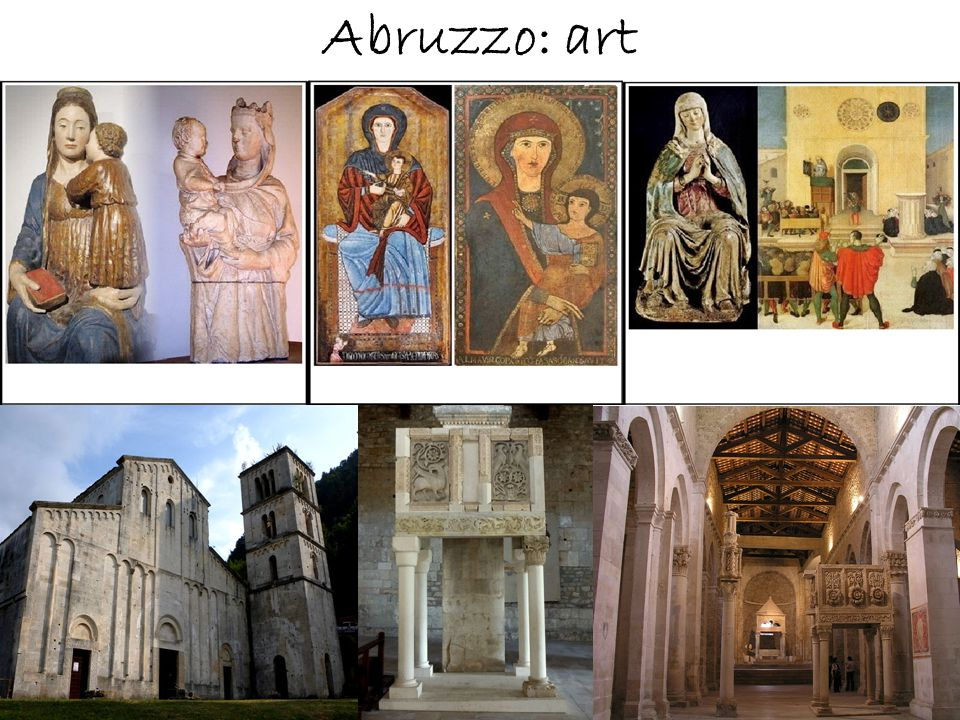 Abruzzo: art