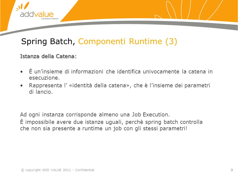 Spring Batch, Componenti Runtime (3)