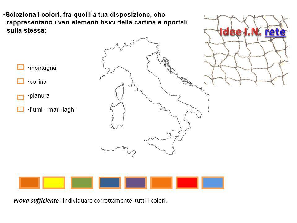 Idee I.N. rete Seleziona i colori, fra quelli a tua disposizione, che