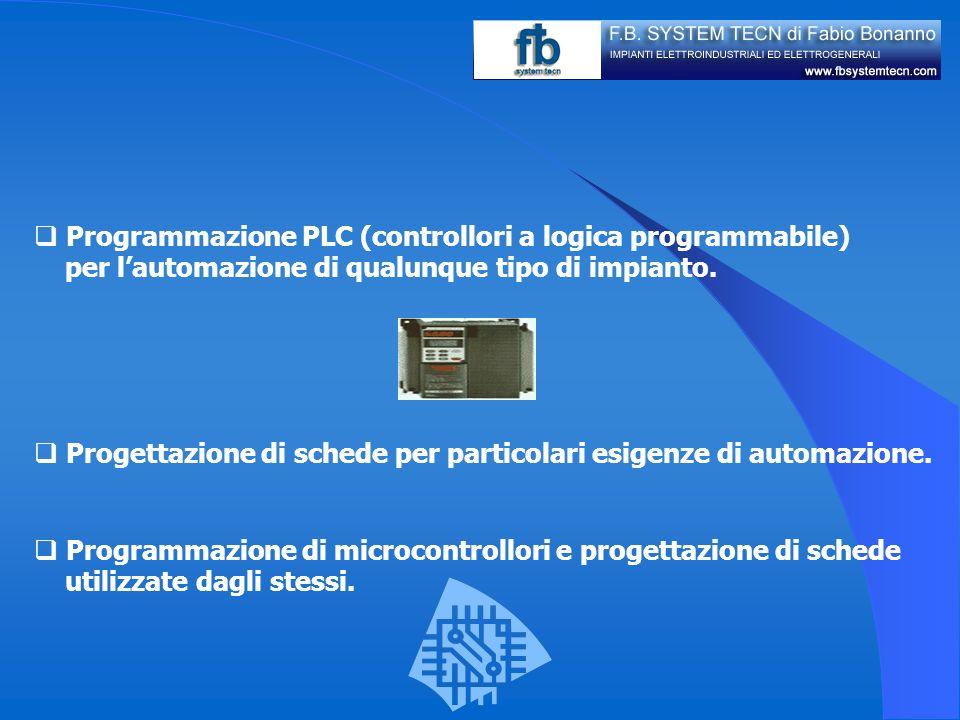 Programmazione PLC (controllori a logica programmabile)