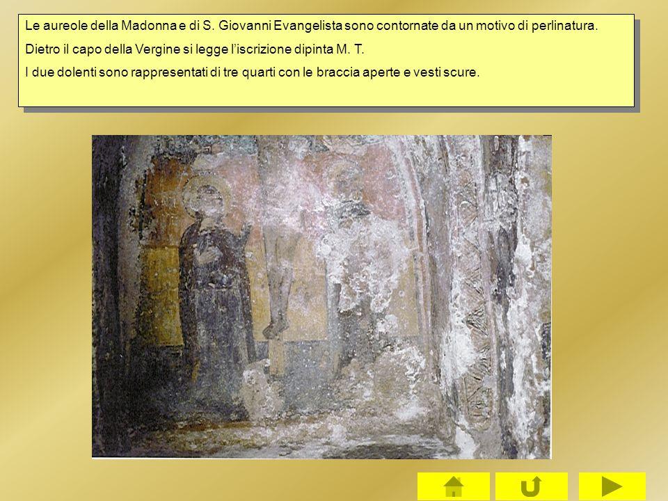 Le aureole della Madonna e di S