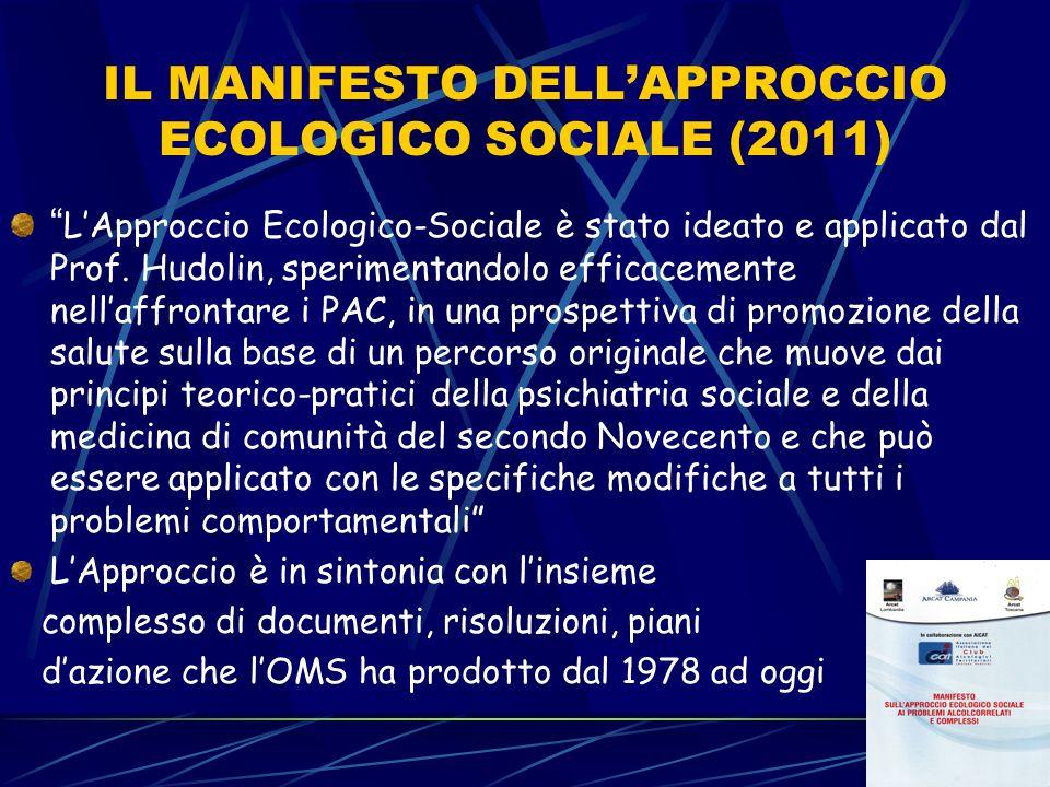 IL MANIFESTO DELL'APPROCCIO ECOLOGICO SOCIALE (2011)