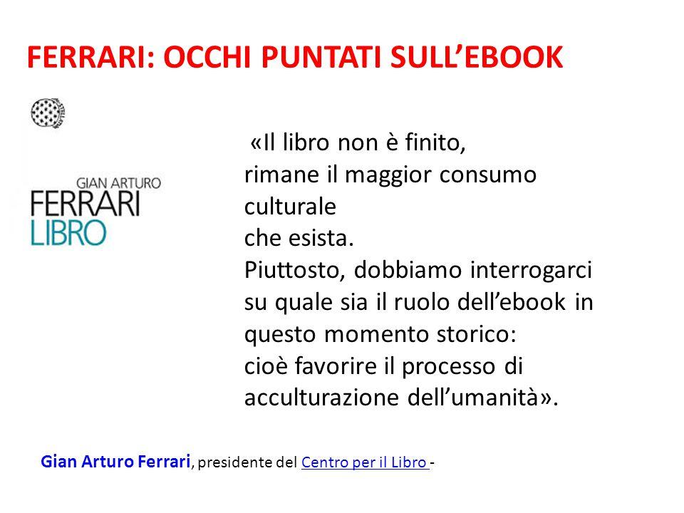 FERRARI: OCCHI PUNTATI SULL'EBOOK
