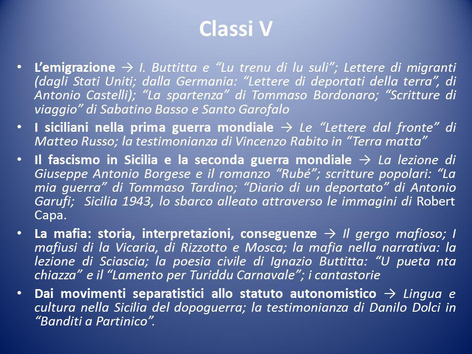 Classi V