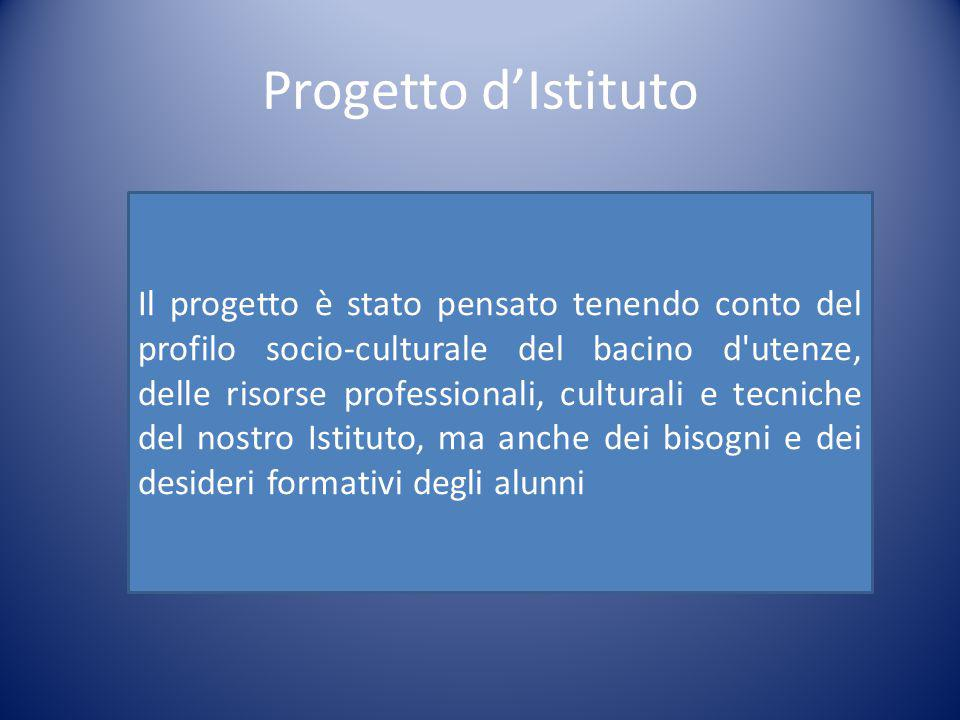 Progetto d'Istituto
