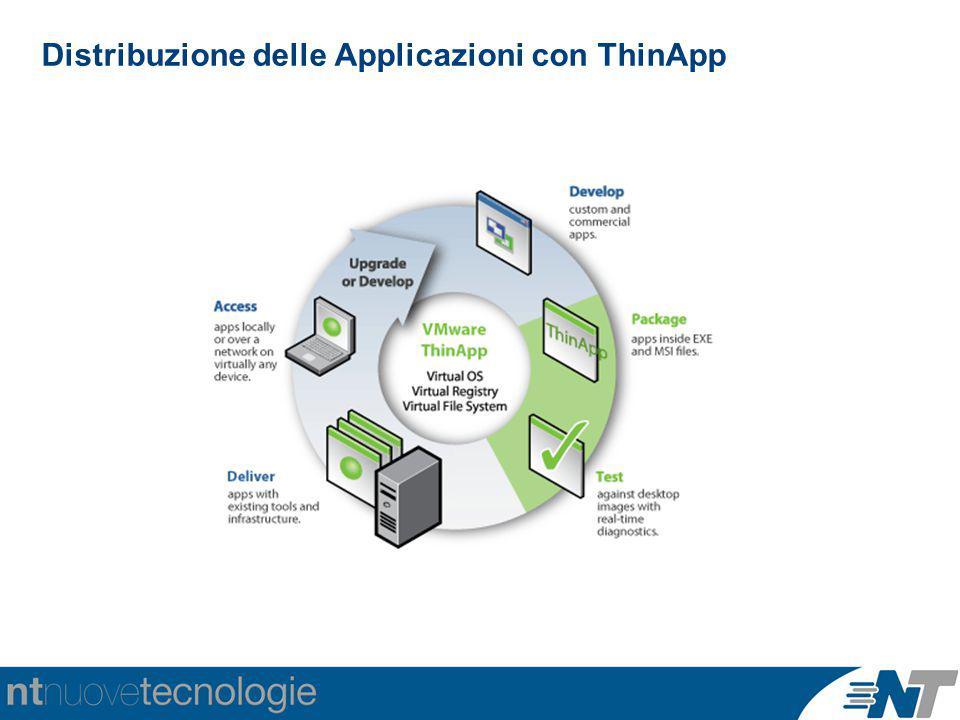 Distribuzione delle Applicazioni con ThinApp