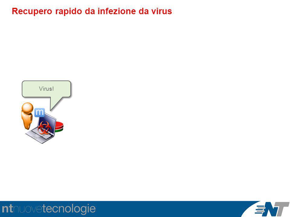 Recupero rapido da infezione da virus