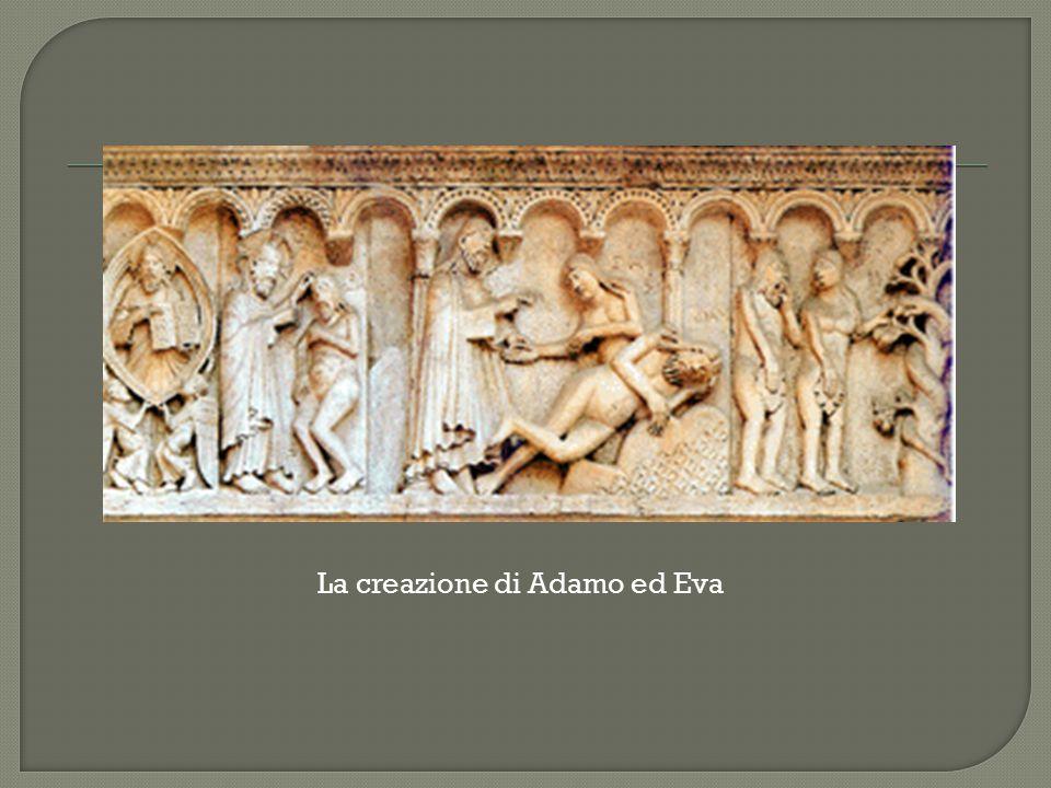 La creazione di Adamo ed Eva