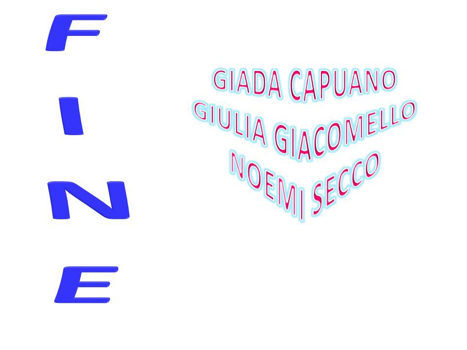 GIADA CAPUANO GIULIA GIACOMELLO NOEMI SECCO