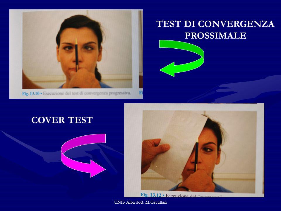 TEST DI CONVERGENZA PROSSIMALE