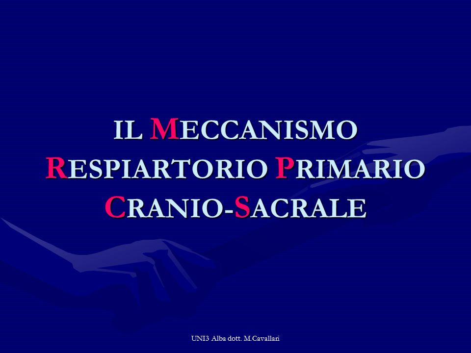 IL MECCANISMO RESPIARTORIO PRIMARIO CRANIO-SACRALE
