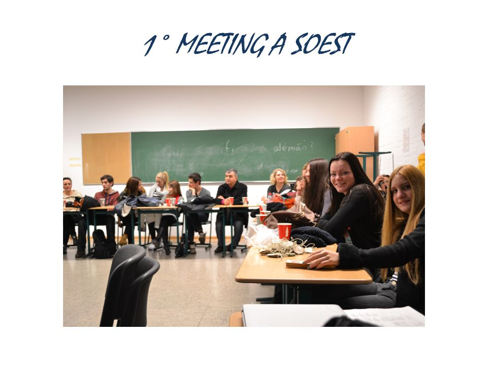1° MEETING A SOEST
