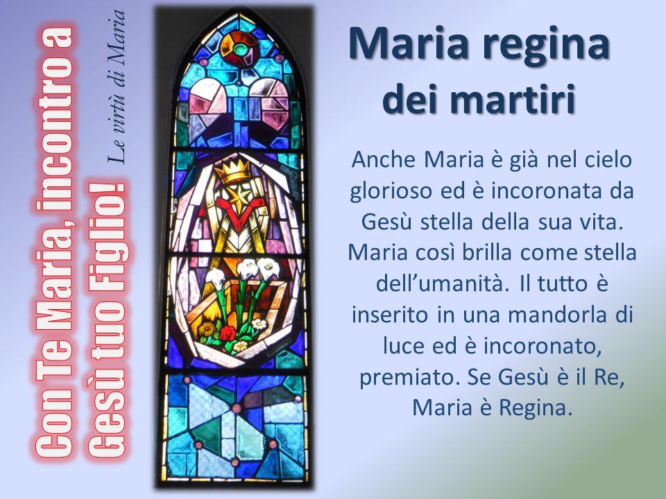 Maria regina dei martiri
