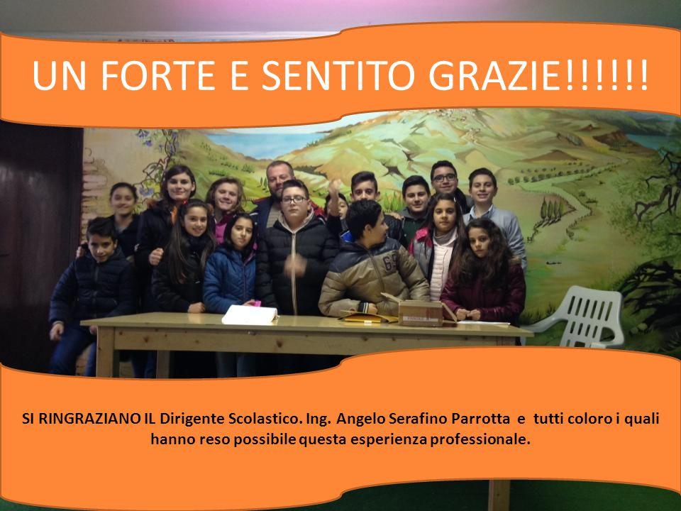 UN FORTE E SENTITO GRAZIE!!!!!!