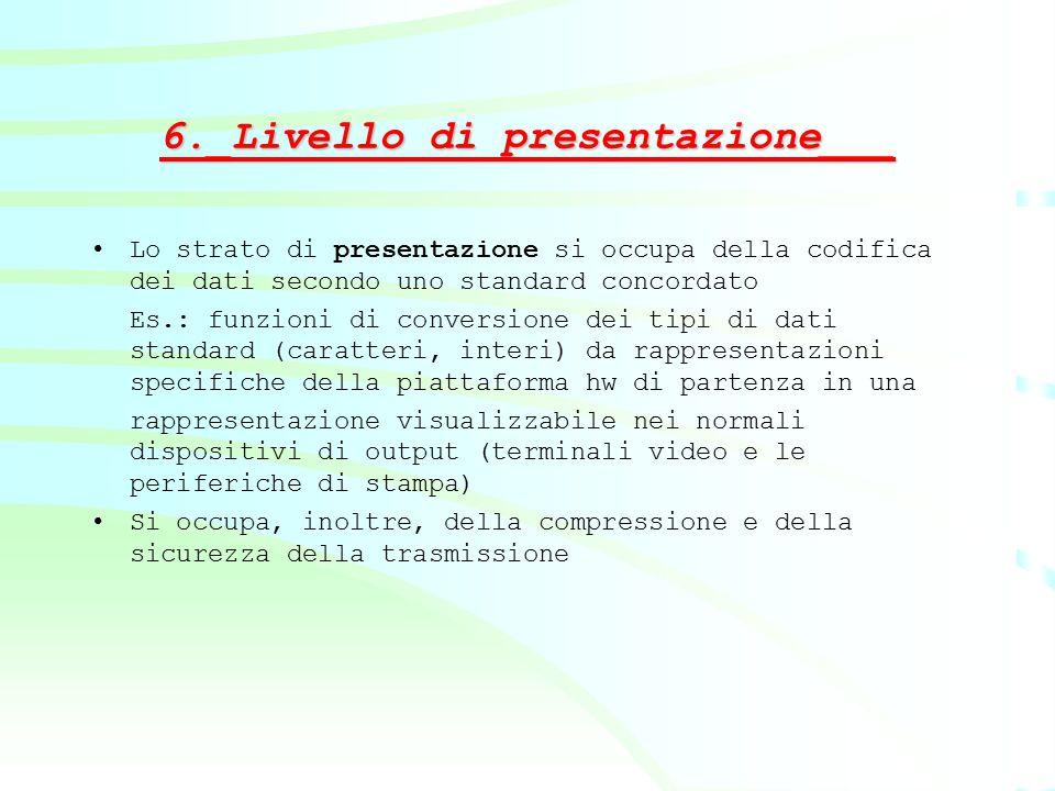 6._Livello di presentazione___