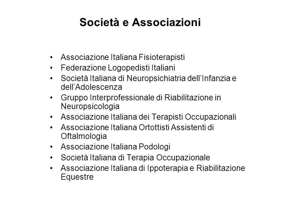 Società e Associazioni