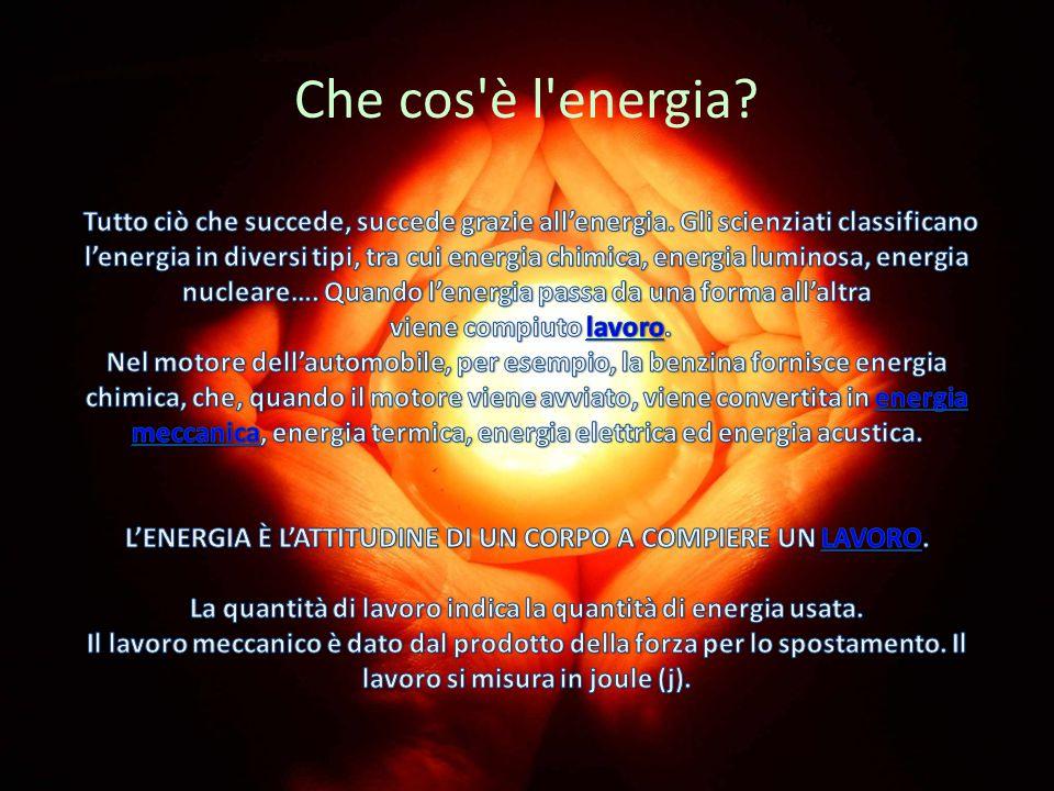 Che cos 39 l 39 energia tutto ci che succede succede grazie all energia ppt scaricare - Diversi tipi di energia ...