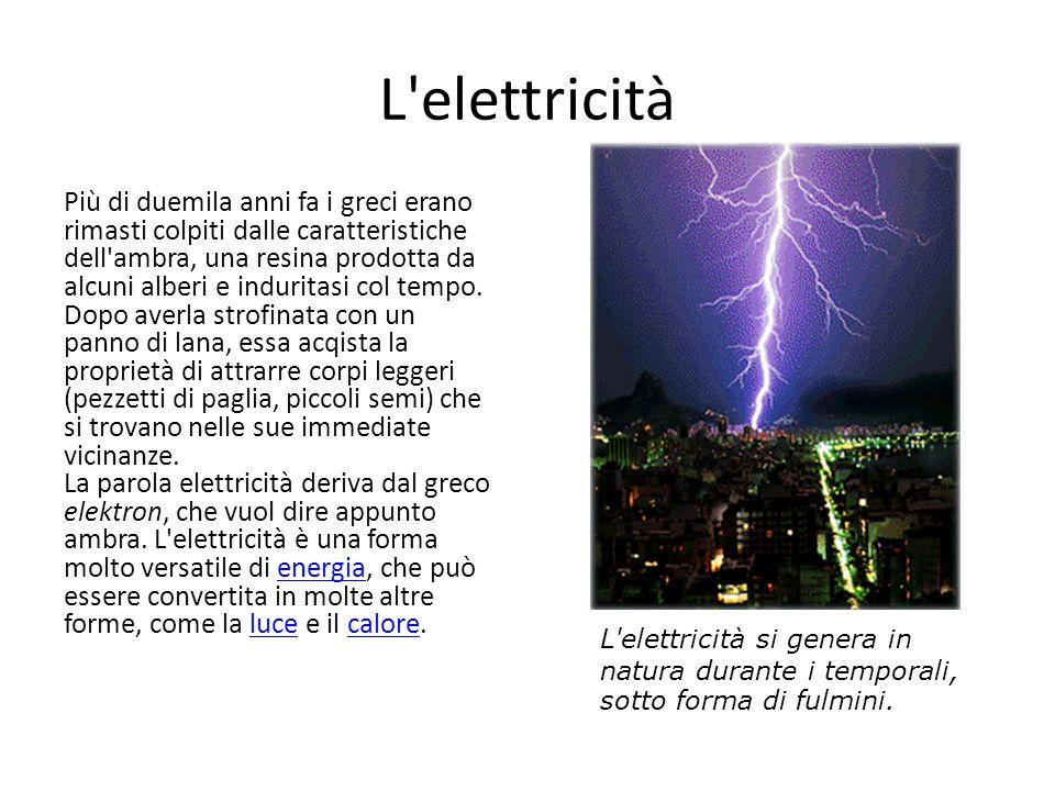 L elettricità