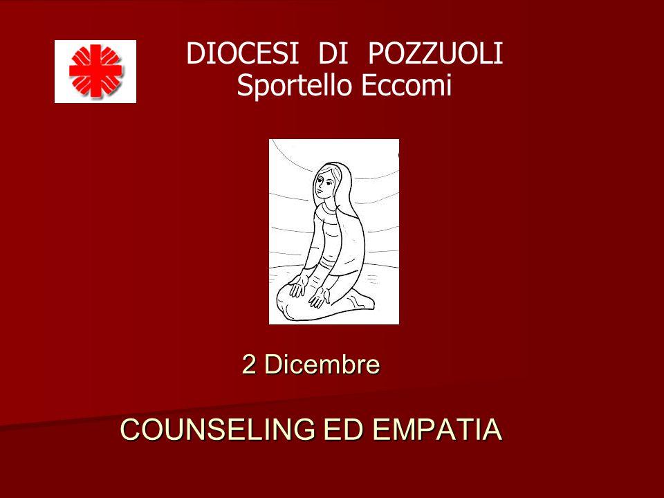 2 Dicembre COUNSELING ED EMPATIA