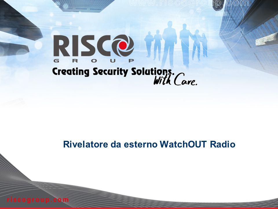 Rivelatore da esterno WatchOUT Radio