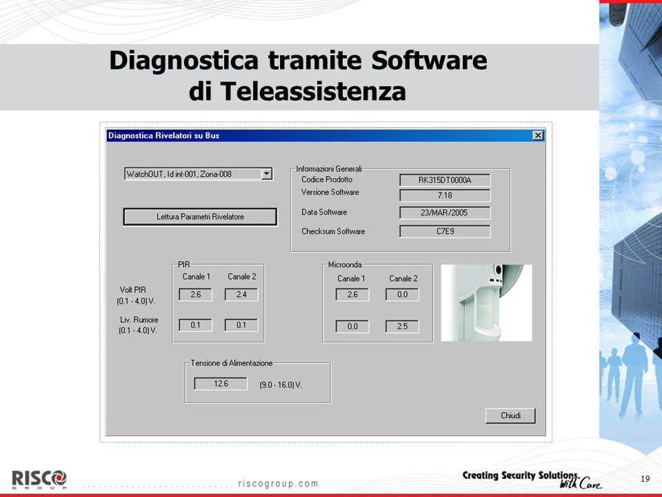 Diagnostica tramite Software di Teleassistenza