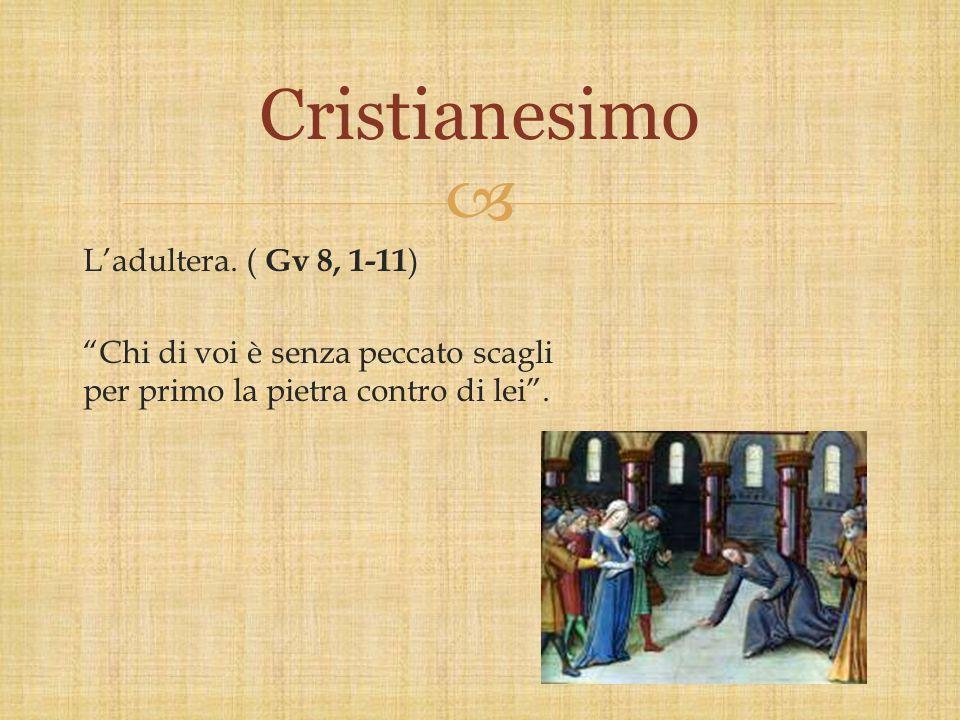 Cristianesimo L'adultera.