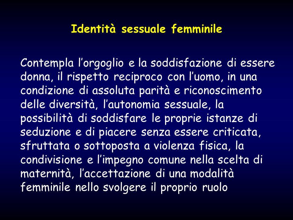 Identità sessuale femminile