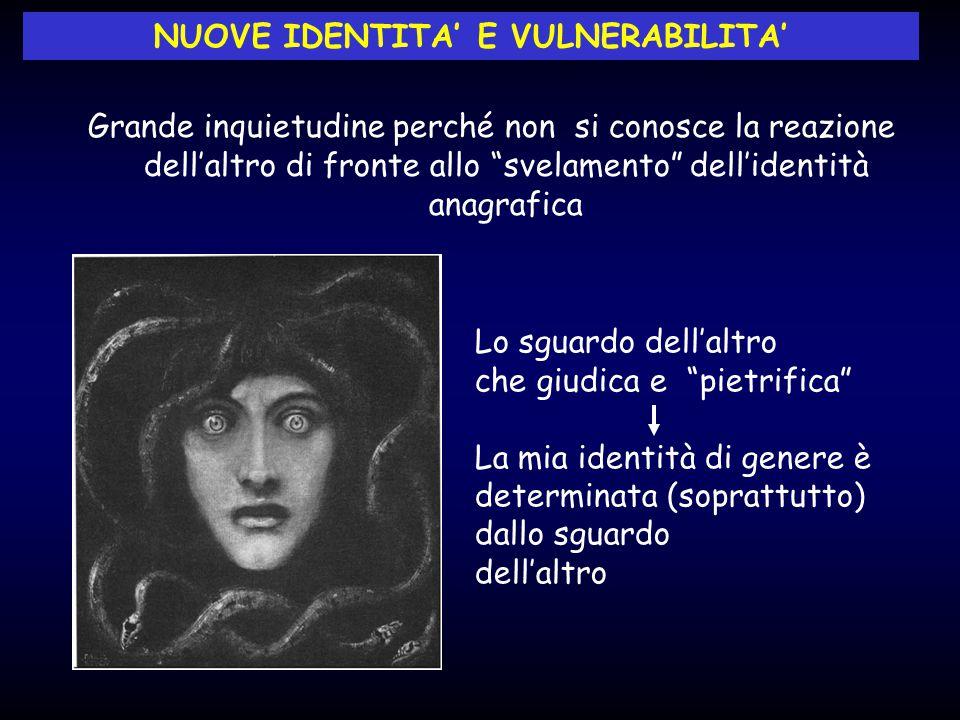 NUOVE IDENTITA' E VULNERABILITA'