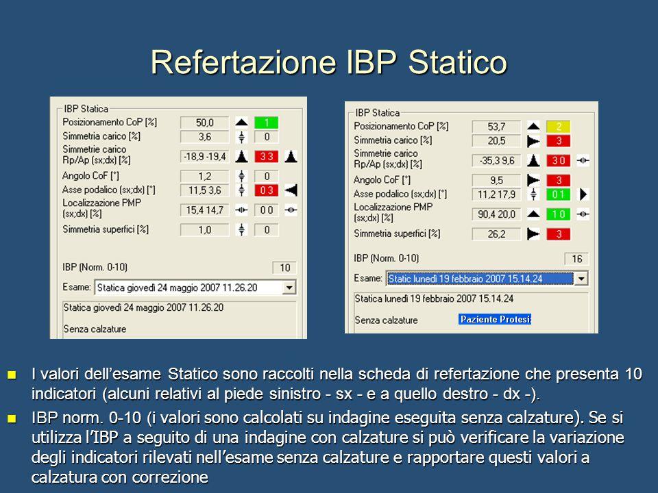 Refertazione IBP Statico