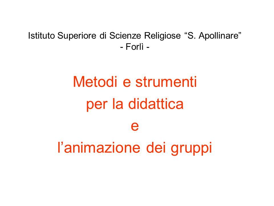 Istituto Superiore di Scienze Religiose S. Apollinare - Forlì -