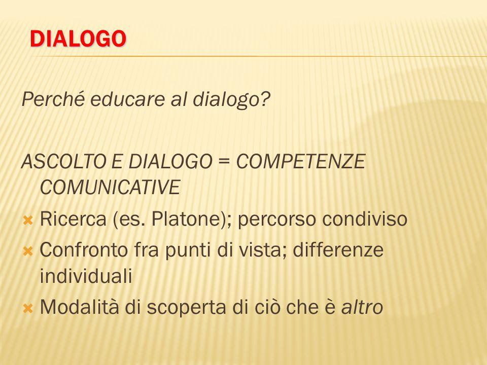 dialogo Perché educare al dialogo