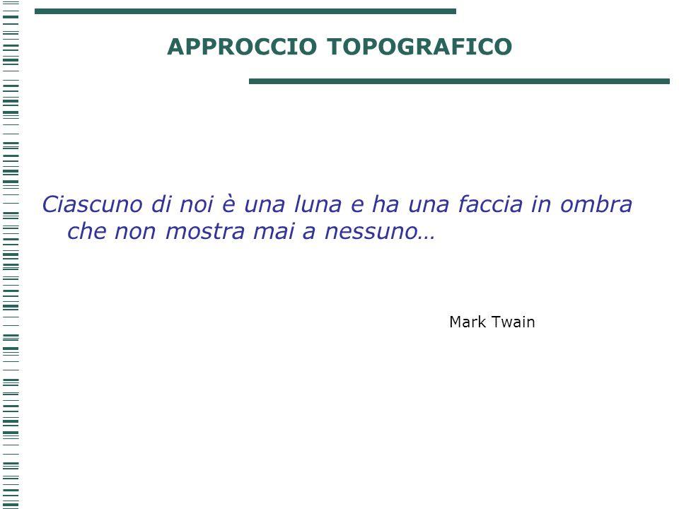 APPROCCIO TOPOGRAFICO