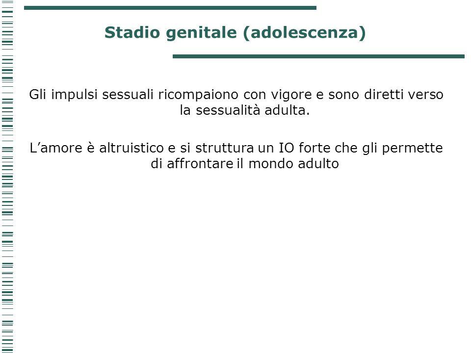 Stadio genitale (adolescenza)