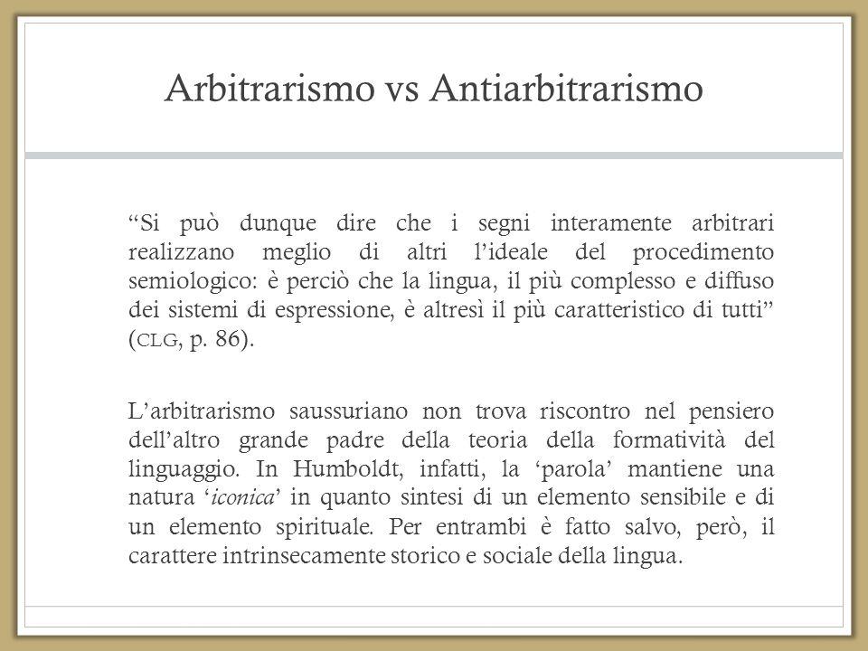 Arbitrarismo vs Antiarbitrarismo