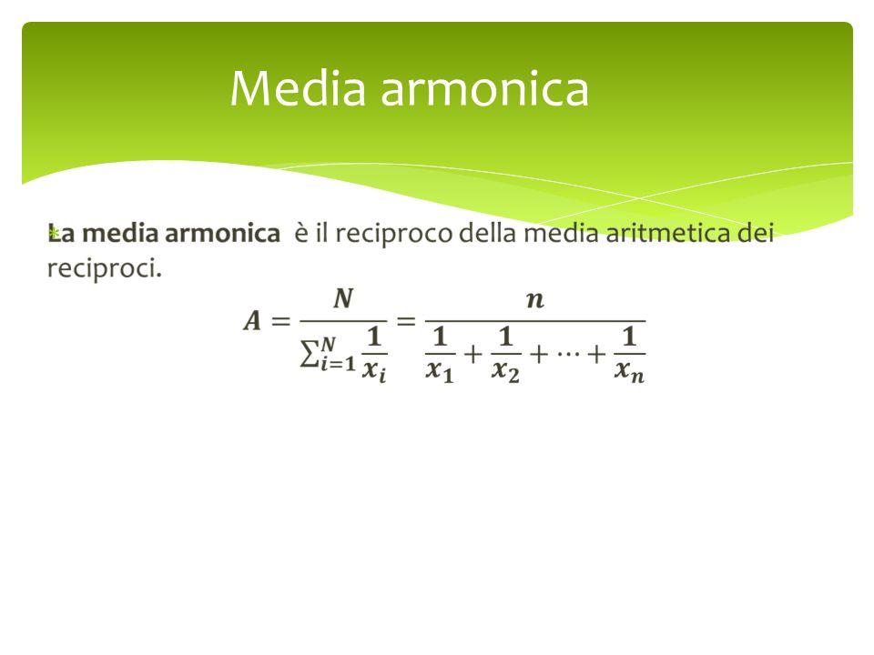 Media armonica