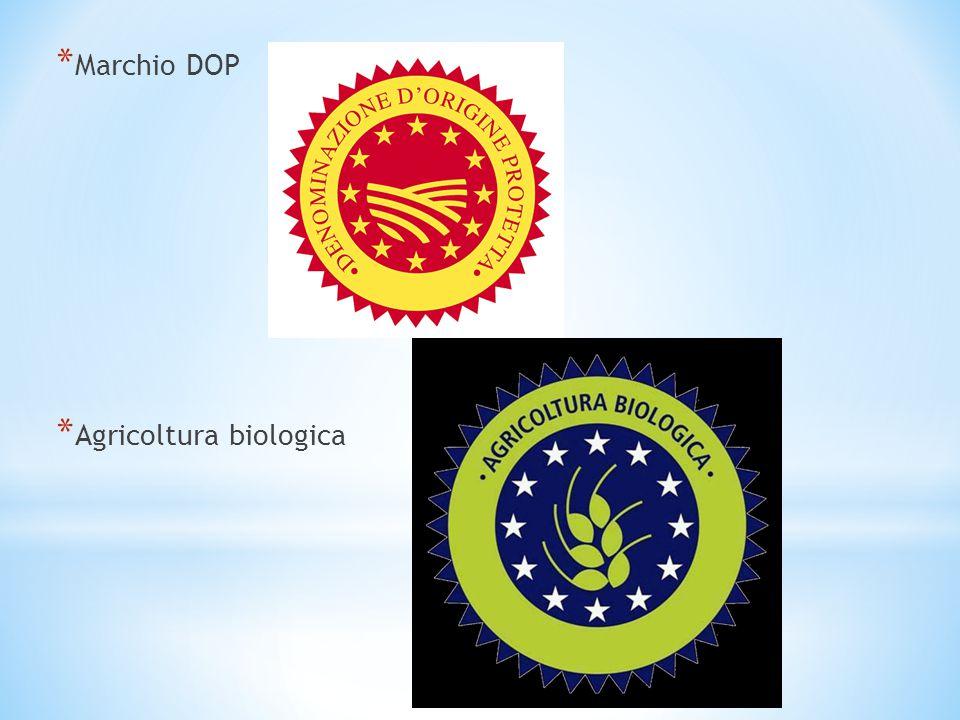 Marchio DOP Agricoltura biologica