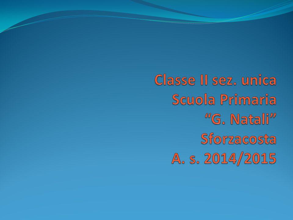 Classe II sez. unica Scuola Primaria G. Natali Sforzacosta A. s