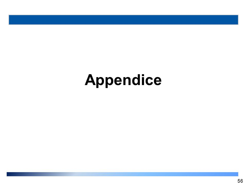 Appendice 56