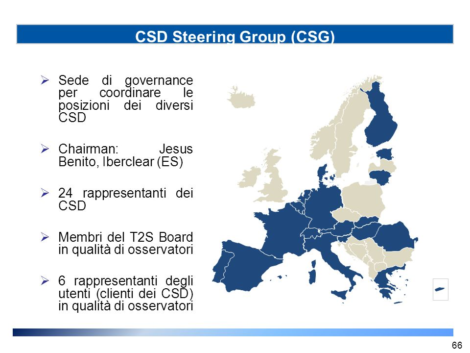 CSD Steering Group (CSG)