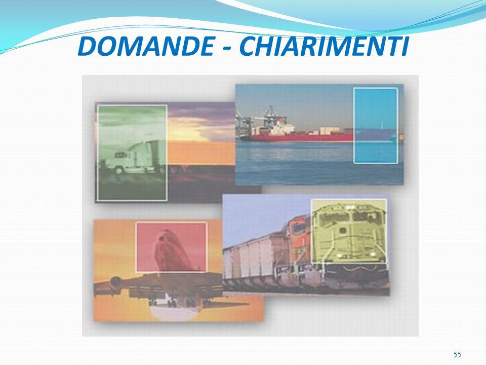 DOMANDE - CHIARIMENTI