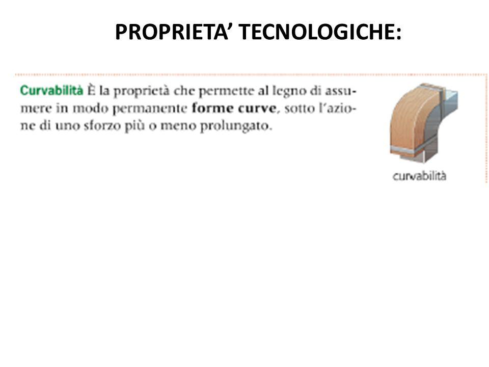 PROPRIETA' TECNOLOGICHE: