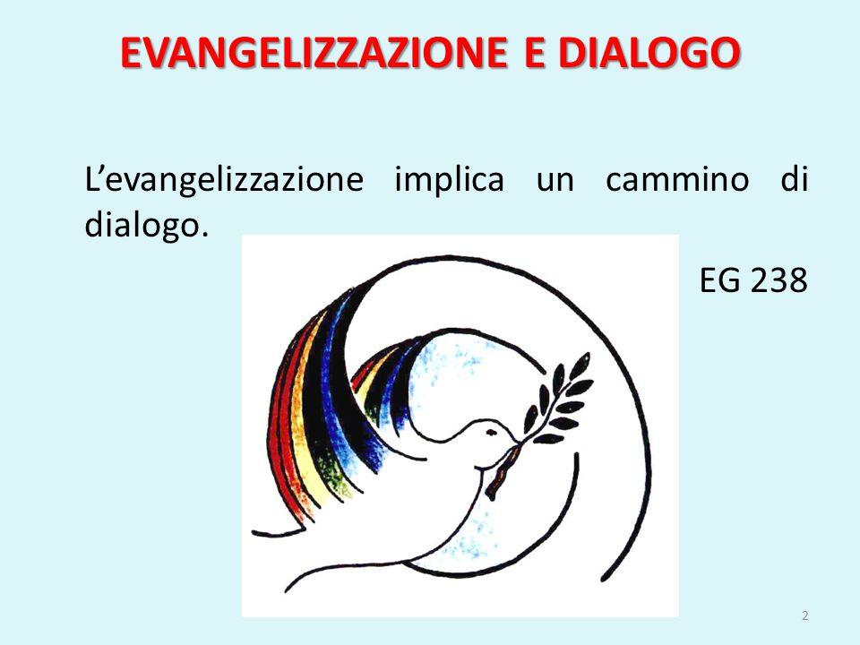 EVANGELIZZAZIONE E DIALOGO