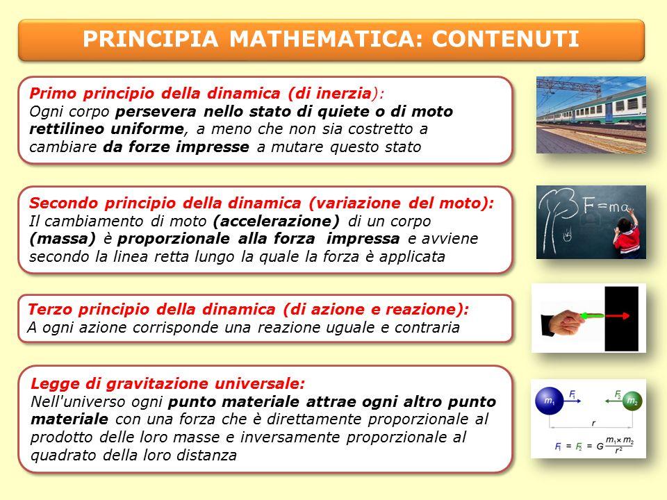 PRINCIPIA MATHEMATICA: CONTENUTI