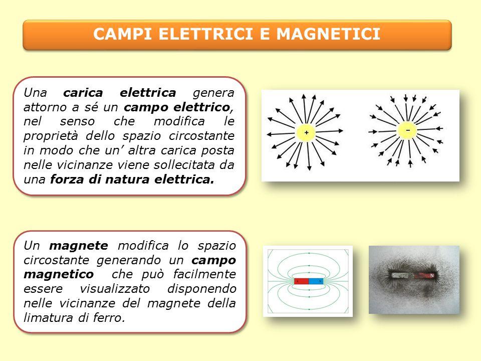 CAMPI ELETTRICI E MAGNETICI