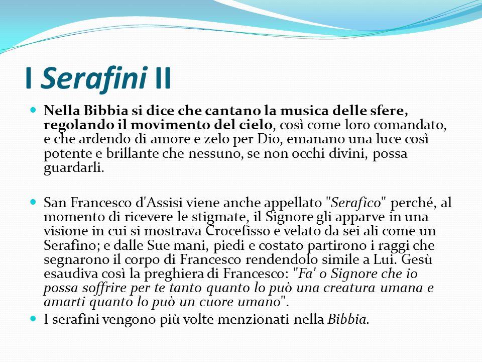 I Serafini II