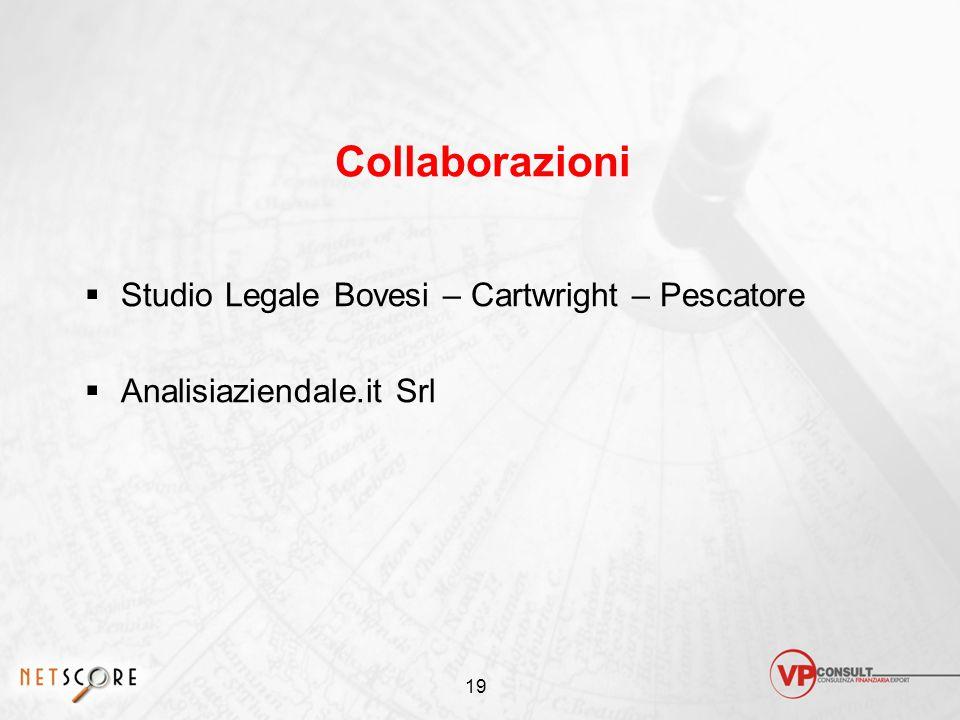 Collaborazioni Studio Legale Bovesi – Cartwright – Pescatore