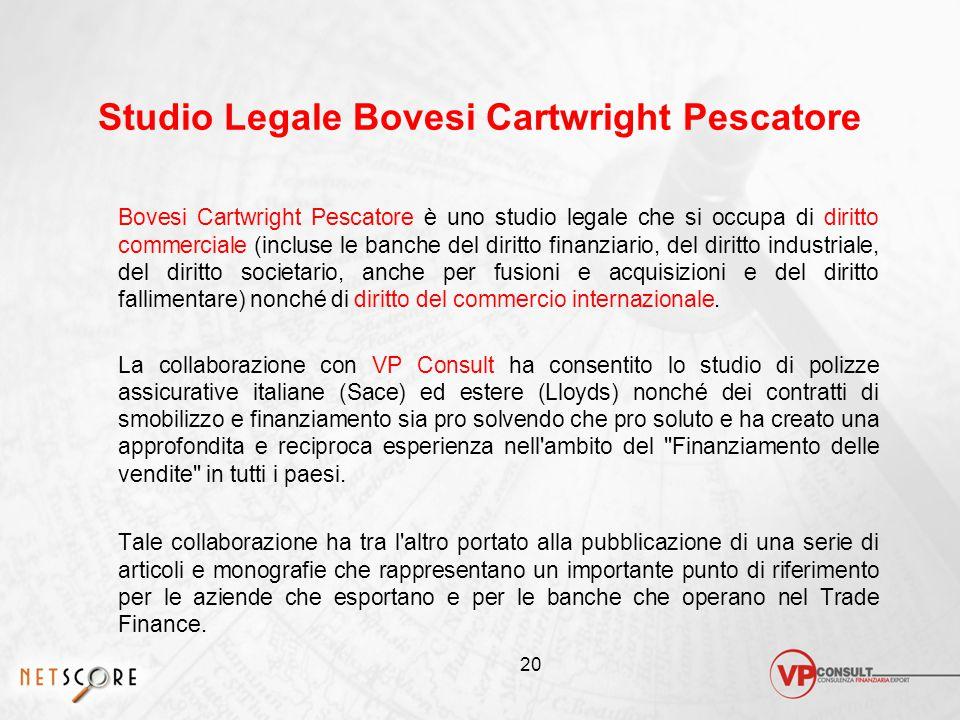 Studio Legale Bovesi Cartwright Pescatore